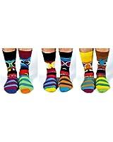 United Oddsocks - Funk You - Herren 6 verschiedene Socken - mit Gesichter! Gr. 39 - 46
