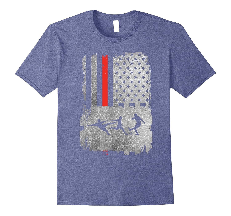 5a2e1e1a18a American Flag Soccer T-shirt USA National Team American Tee-PL – Polozatee