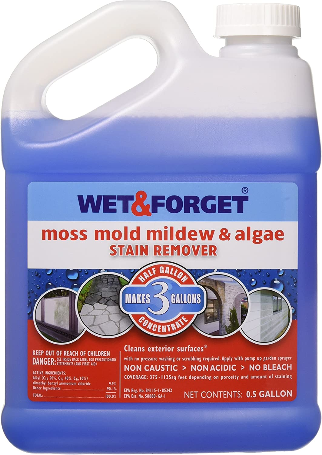 Best Biodegradable Deck cleaner: Wet and Forget 800003 Deck Cleaner