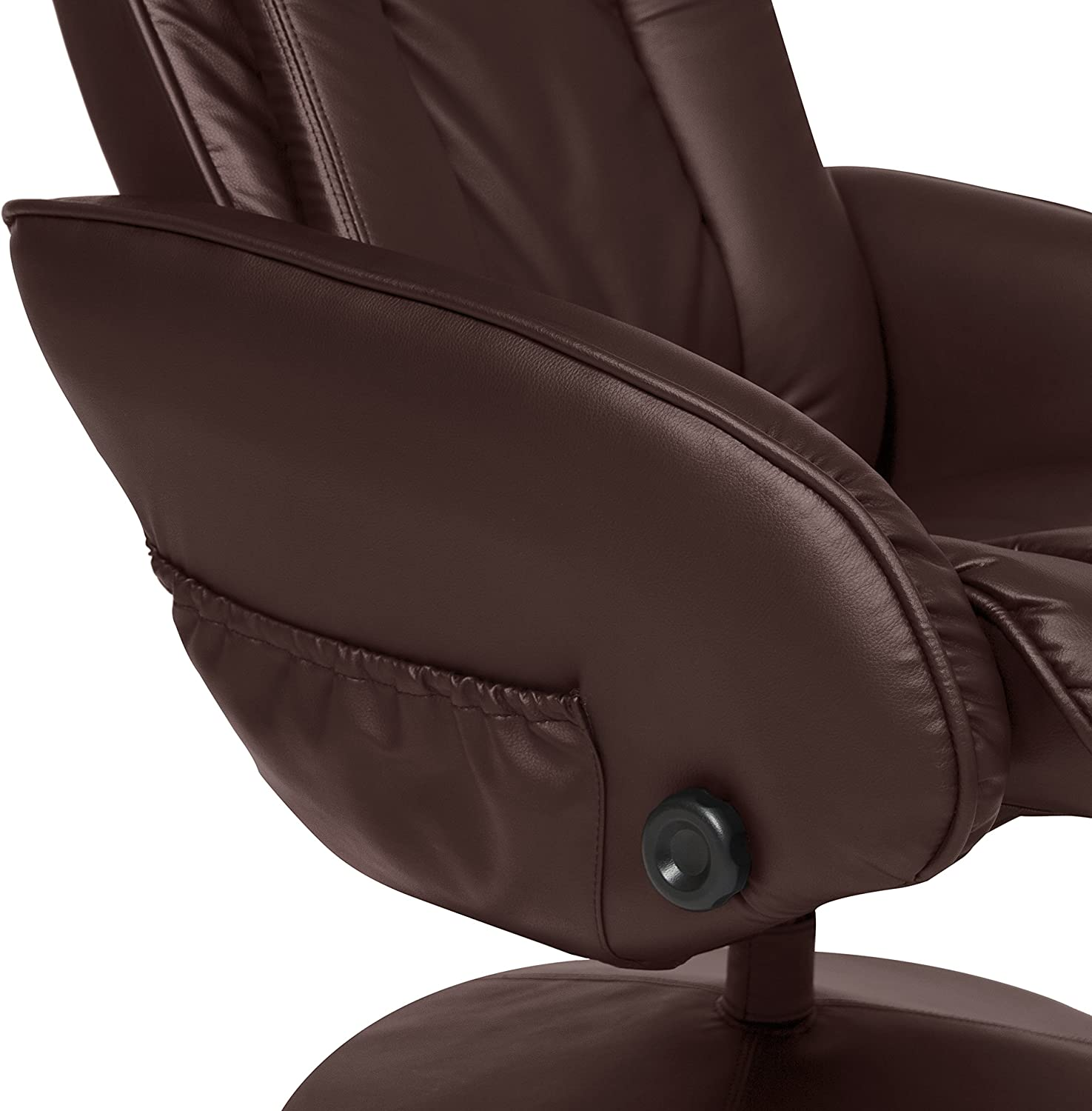 Best Choice Products Recliner Massage Chair side pocket