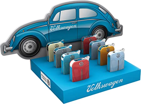 8 x Volkswagen Mechero Mariquita en la pantalla Gas metal original en caja mecheros 75: Amazon.es: Hogar