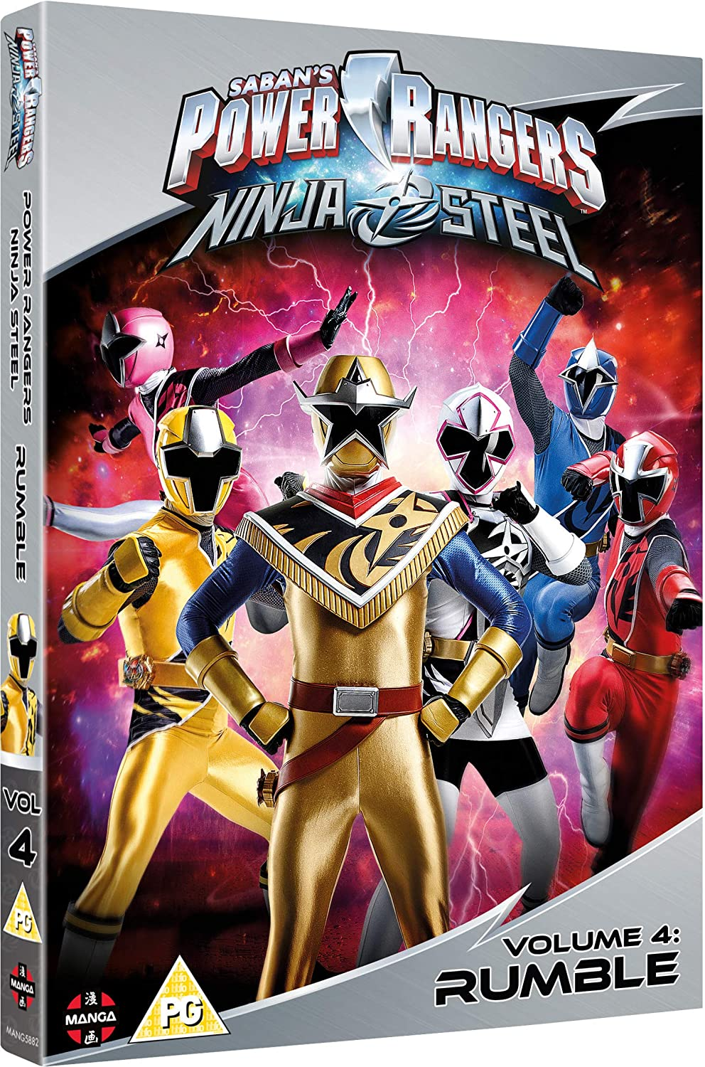 Power Rangers Ninja Steel: Rumble Volume 4 Episodes 13-16 ...