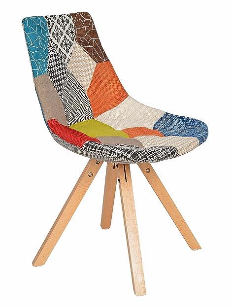 1 x design patchwork sessel wohnzimmer küchen stuhl esszimmer sitz ... - Sessel Wohnzimmer Design