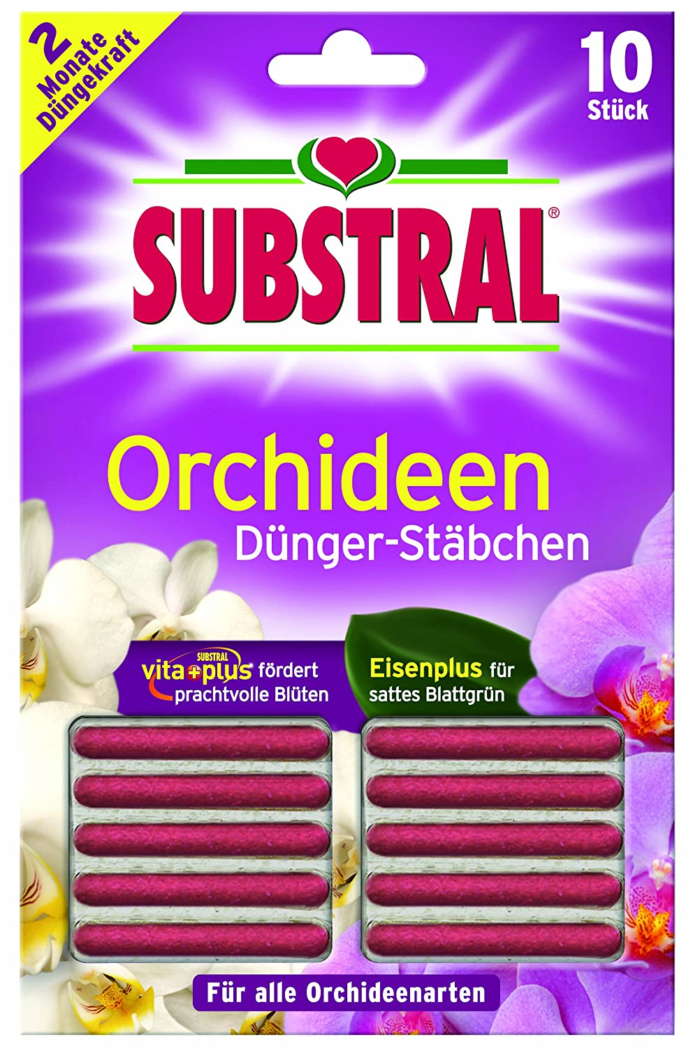 Substral Orchid DüngerStäBchen-Pack of 10. 8910498