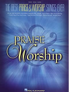 40 sheet music bestsellers christian hits pianovocalguitar the best praise worship songs ever piano vocal guitar fandeluxe Images