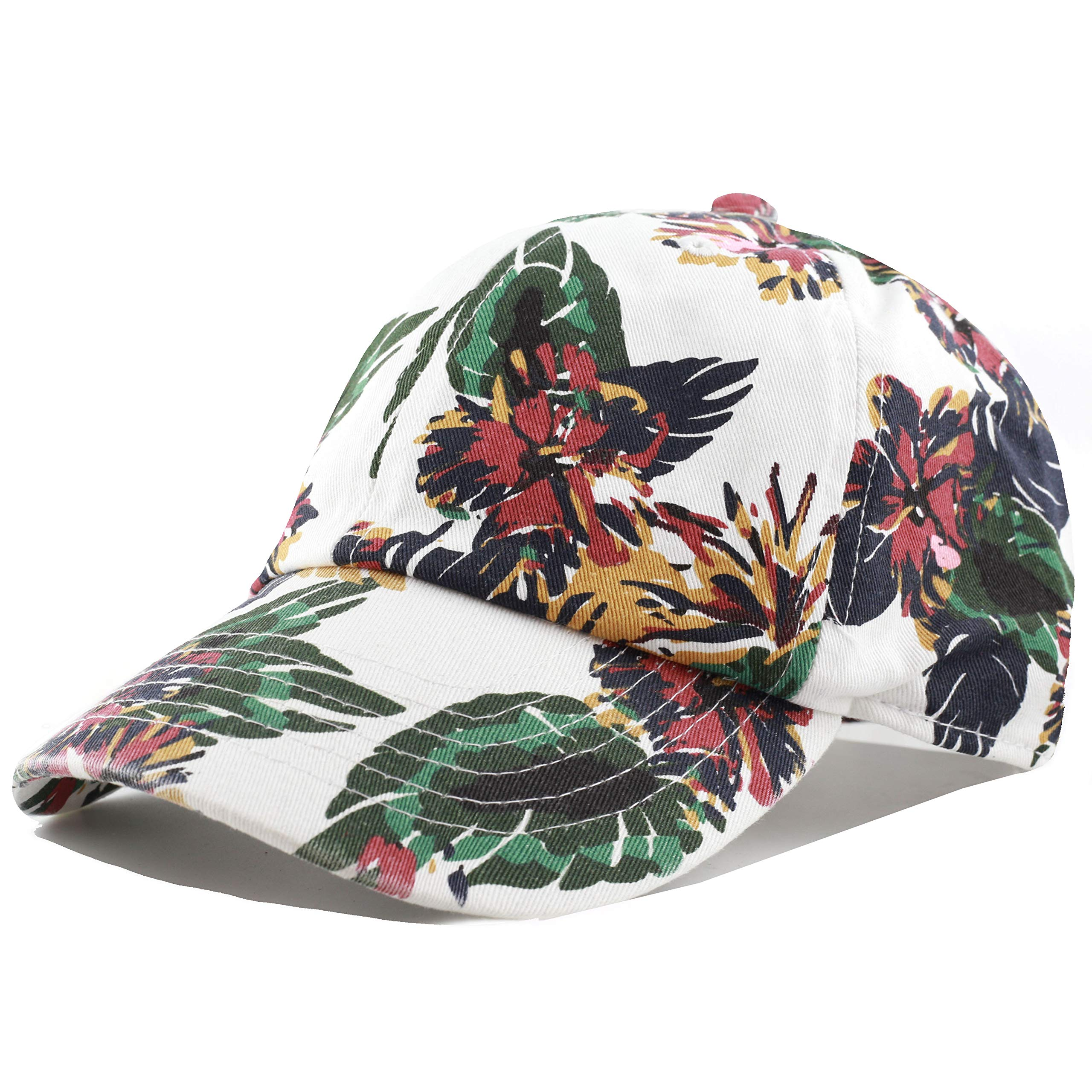 4dcaabcbd3f13 THE HAT DEPOT Unisex Blank Washed Low Profile Cotton and Denim Baseball Cap  Hat product image
