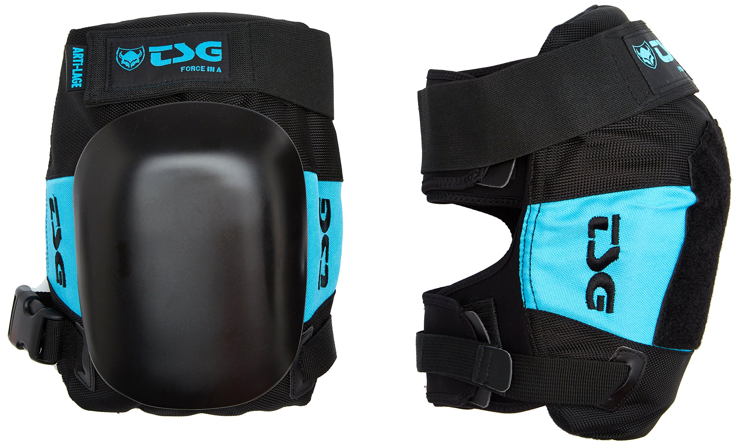 TSG - Kneepad Force III A Pads for Skateboard (Black, L)