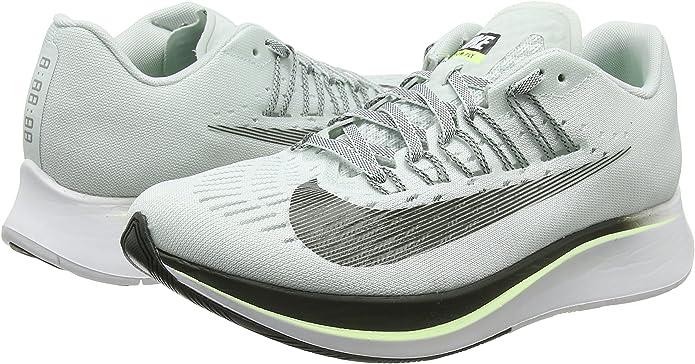 Nike Zoom Fly, Zapatos de Squash para Mujer, Gris (Barely Grey/Sequoia/Lt Pumice/004), 39 EU: Amazon.es: Zapatos y complementos