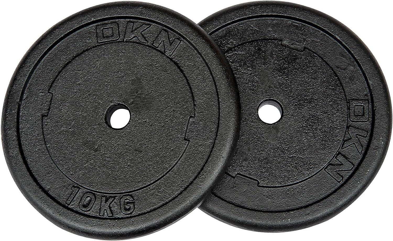 Mixte Cast Iron DKN Disques de Poids Standard en Fonte