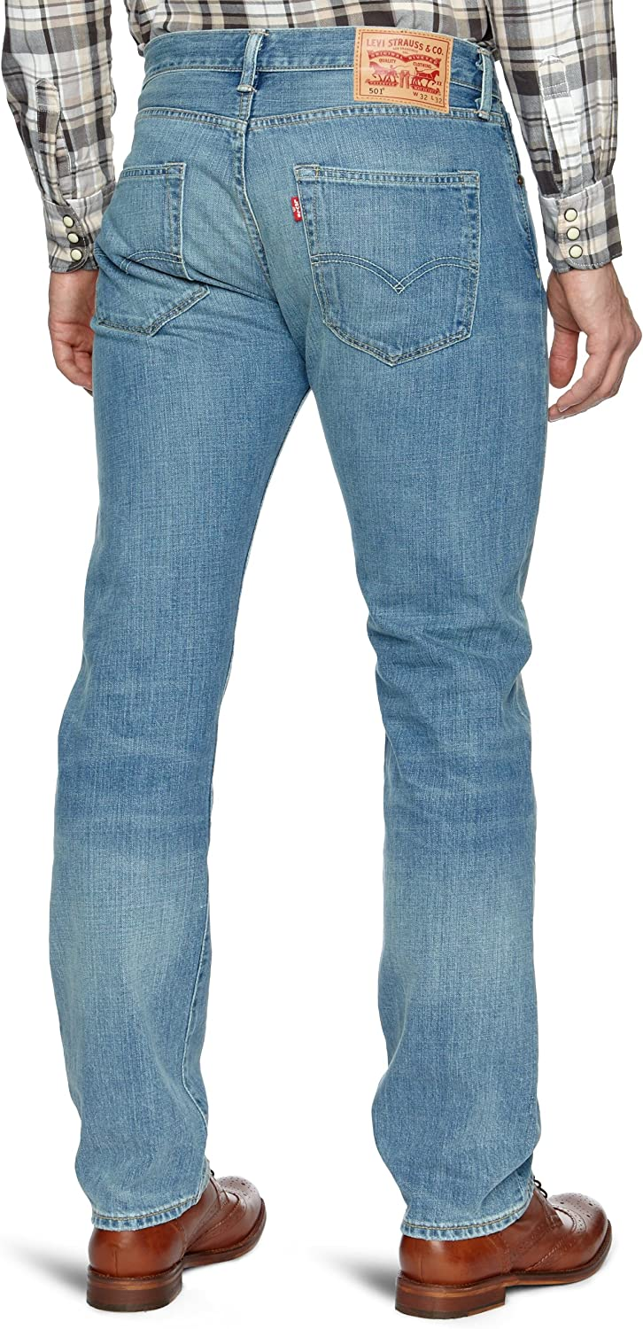 Levi's 501 Original Fit Jeans Homme Bleu (Broken Blues)