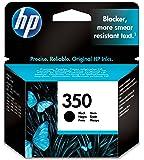 HP Cartouche d'Encre - 350 - Noir - Authentique (Ref: C9364EE)
