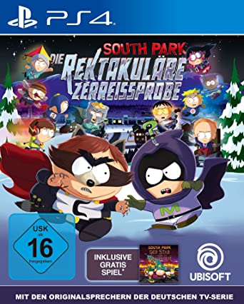 South Park Die rektakuläre Zerreißprobe uncut [PlayStation