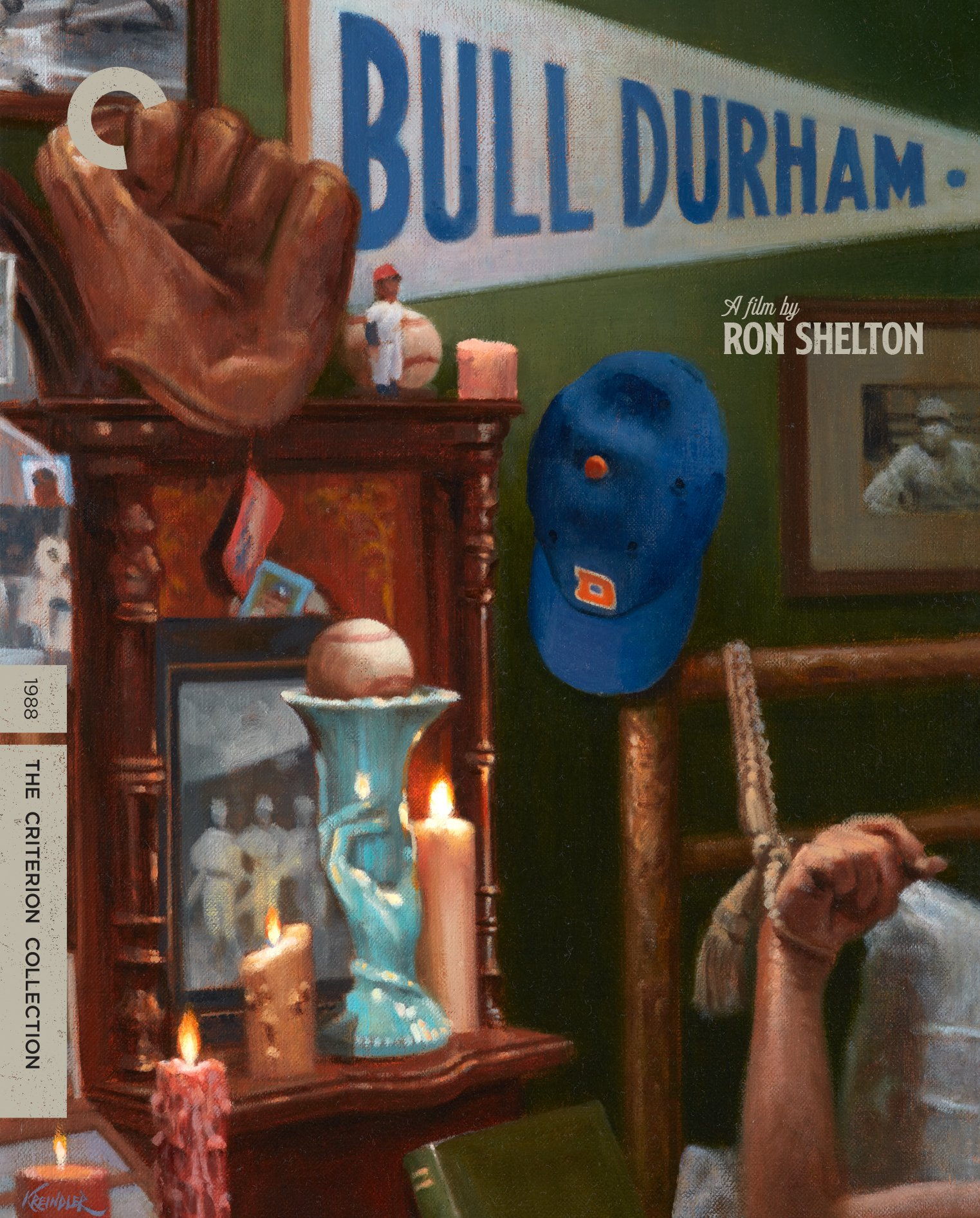 Blu-ray : Bull Durham (criterion Collection) (Special Edition, Restored, 4K Mastering, Digital Theater System, AC-3)