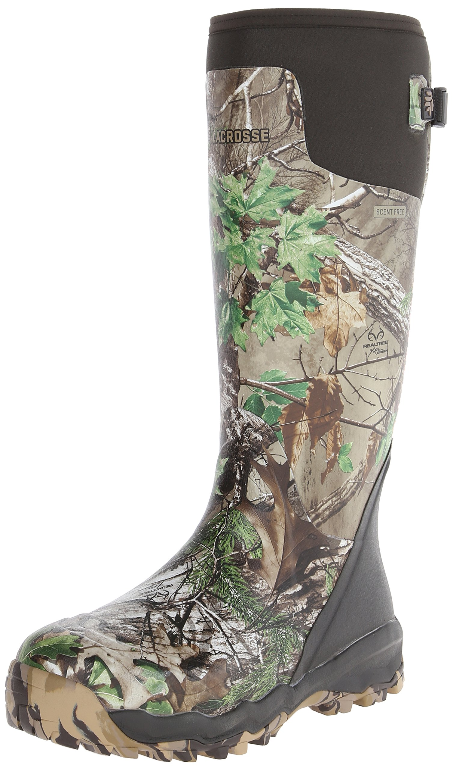 LaCrosse Men's Alphaburly Pro 18'' Hunting Boot,Realtree Xtra Green,14 M US