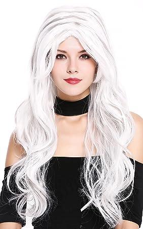 WIG ME UP ® - 91529-ZA60+ZA68A Peluca Mujer Carnaval Halloween Cosplay Mezcla