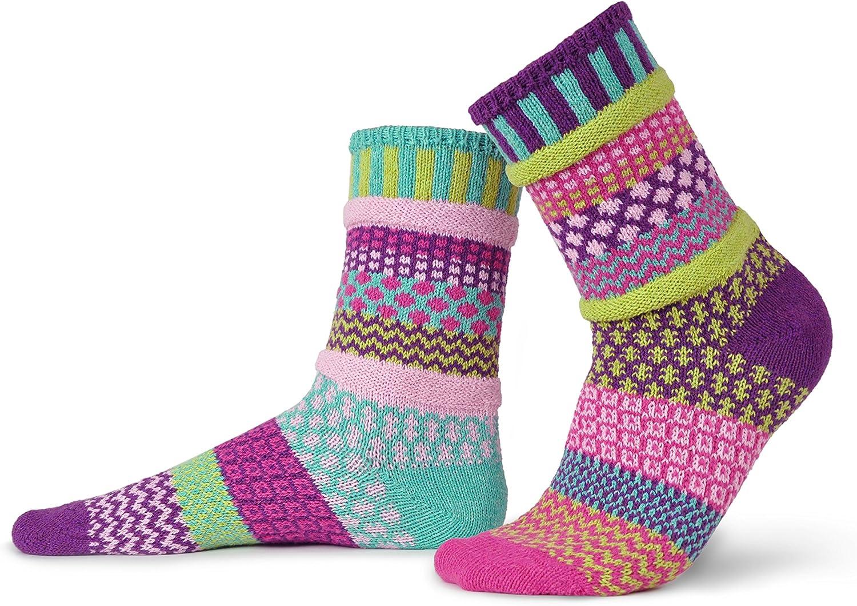Mismatched Crew Socks for women or Men Solmate Socks