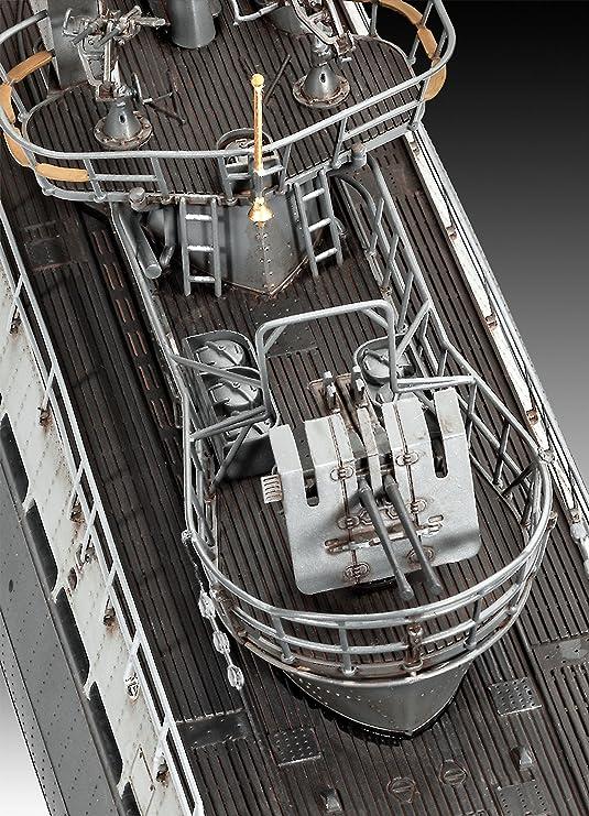 Revell Maqueta Submarino alemán Type IX C/40, Kit Modello Escala 1:72 (5133) (05133), 106,3 cm de Largo (: Revell: Amazon.es: Juguetes y juegos