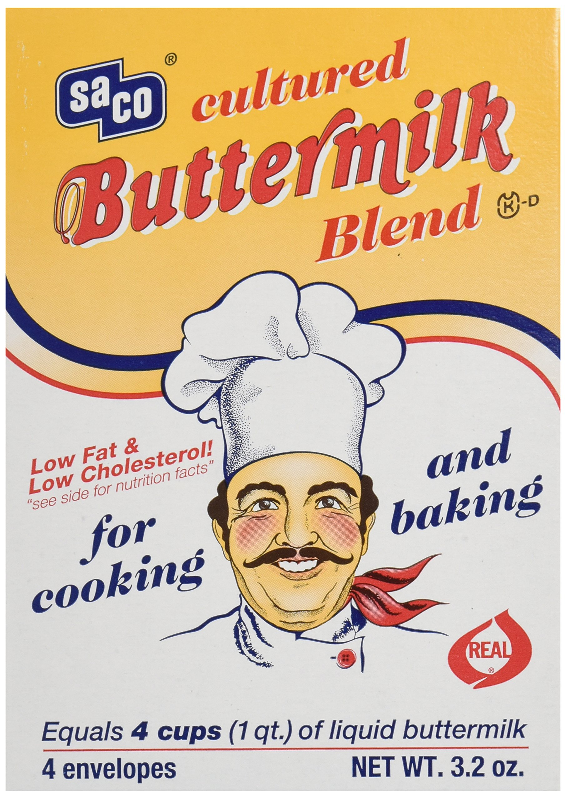 Saco Foods Cultured Buttermilk Blend, 3.2 oz by SACO