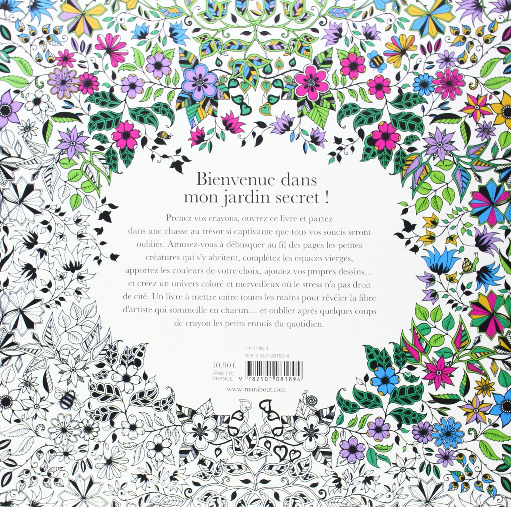 Amazon Fr Jardin Secret Johanna Basford Livres