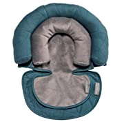 JJ Cole - Head Support, Newborn Head and Neck Support for Car Seat and Stroller, Designed to Adjust with Age, Teal Fractal, Birth and up