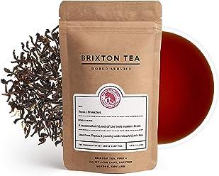 Brixton Tea ® Nepali Breakfast, Fresh Loose Leaf Tea 100g, Great Alternative to English Breakfast Tea