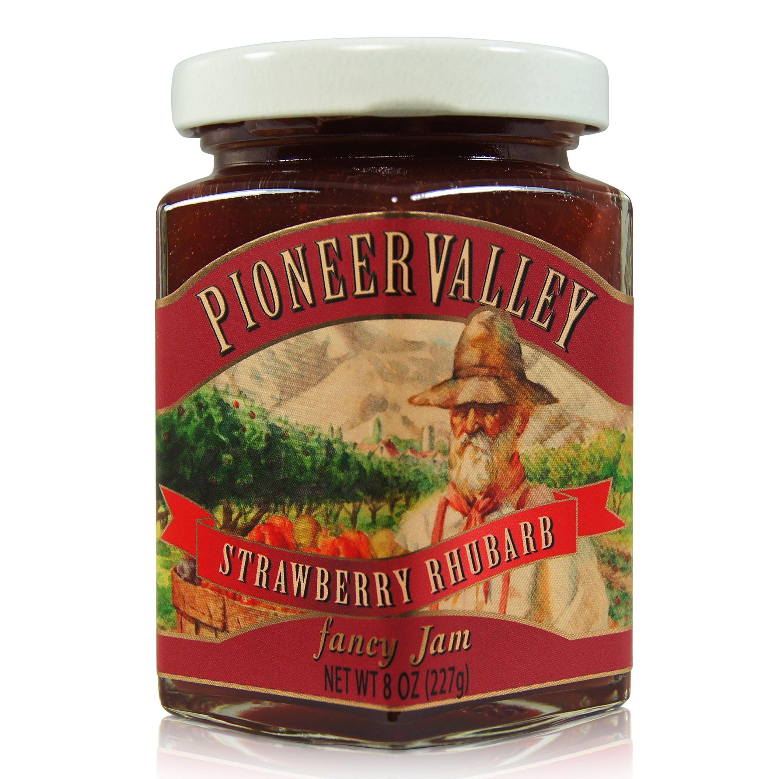 Pioneer Valley Fancy Strawberry Rhubarb Jam