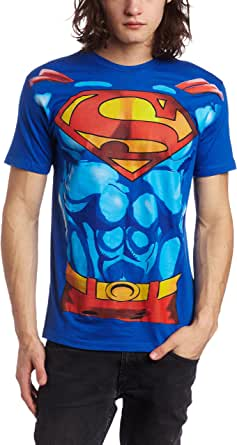 Bioworld Men's Superman Muscle Costume Tee