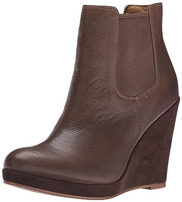 Corso Como Women's Coast Boot, Taupe Tumbled Leather, ...