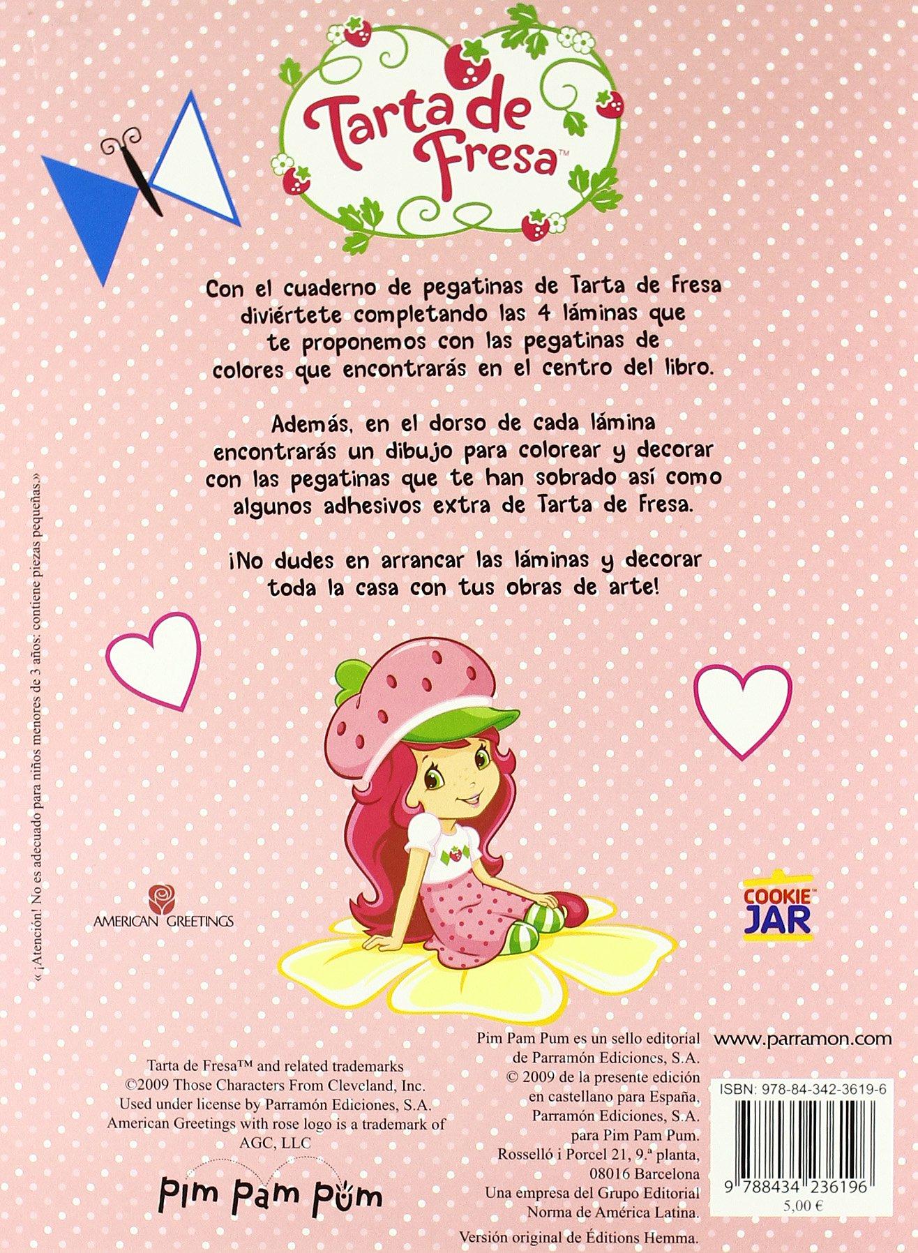Excepcional Pastel De Fresas Y Amigos Para Colorear Fotos ...
