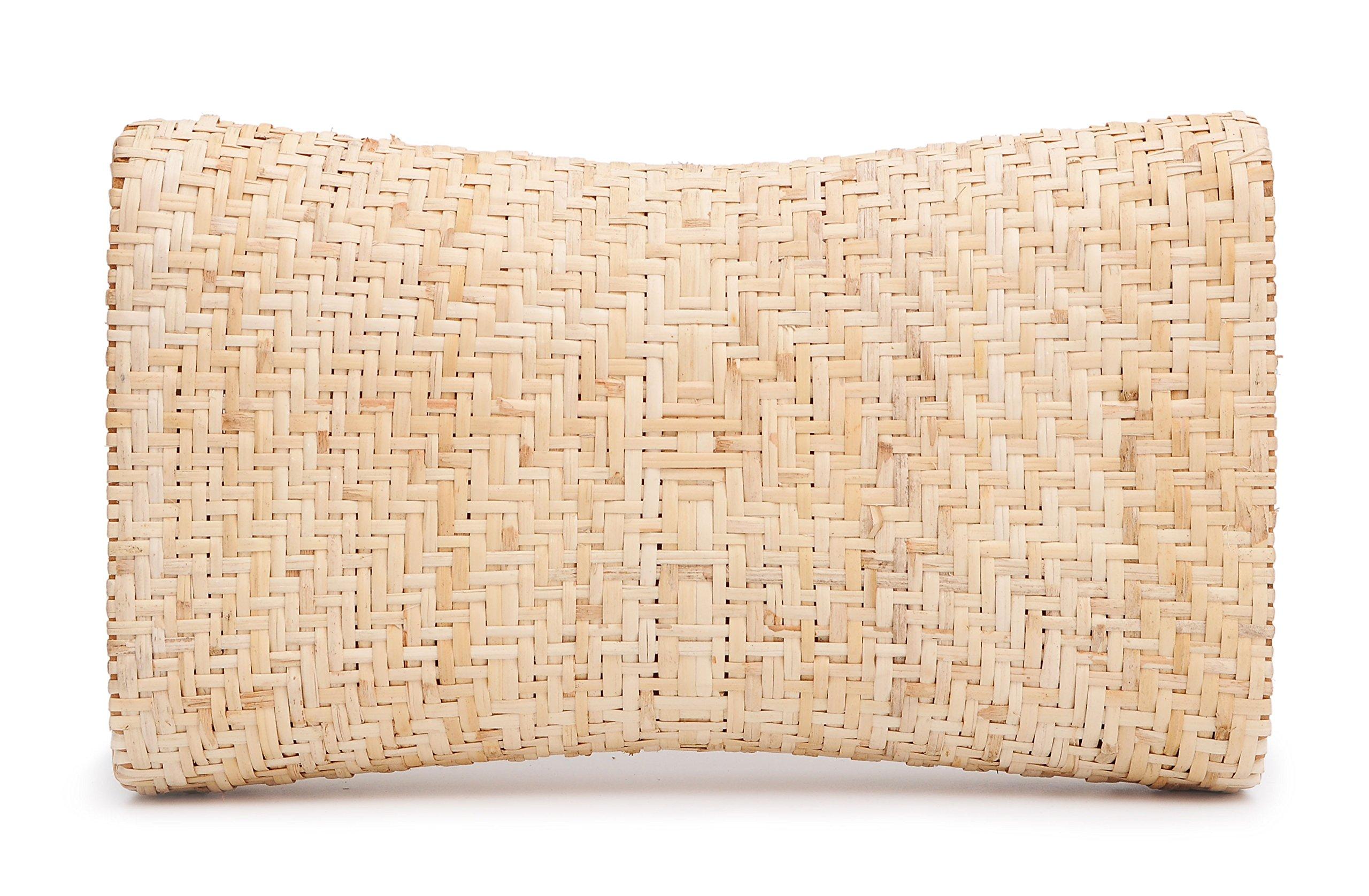 Vietnamese Natural Handmade Rattan Pillow- Helping Maintain Health & Portable