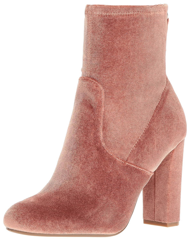 Steve Madden Women's Brisk Ankle Bootie B01M8I7PM5 9 B(M) US|Blush Velvet