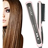 Secura Hair Straightener Comb with PTC Ceramic Heating Elements and 6 Levels of Temperature Control - Model:SC-6L