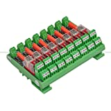 Shavison Relay Module AS435-230VAC-OE, 2C/O, 8 Channel, 230VAC Coil, OEN Relay, Directly Soldered Relay, Isolated Coils, Contact Rating : 28VDC/230VAC, 5A
