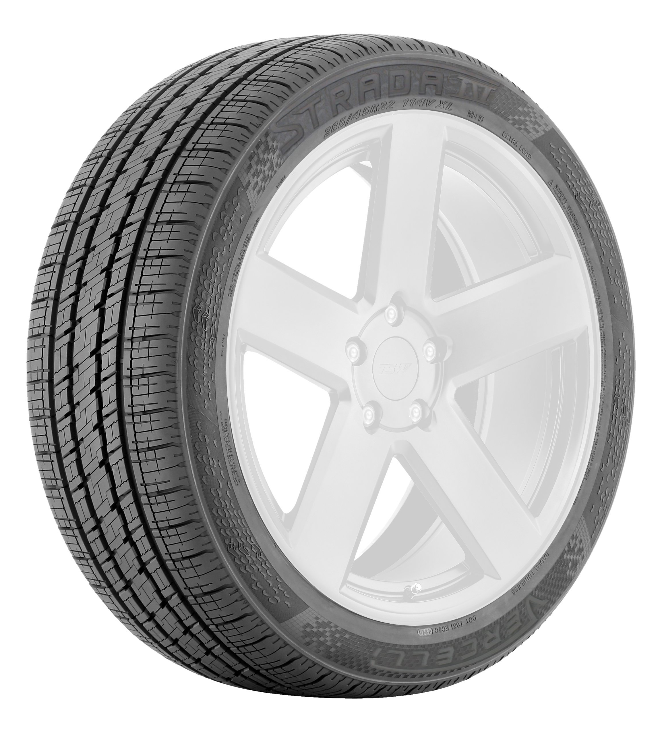 Vercelli Strada IV All-Season Radial Tire - 295/30R22 103W