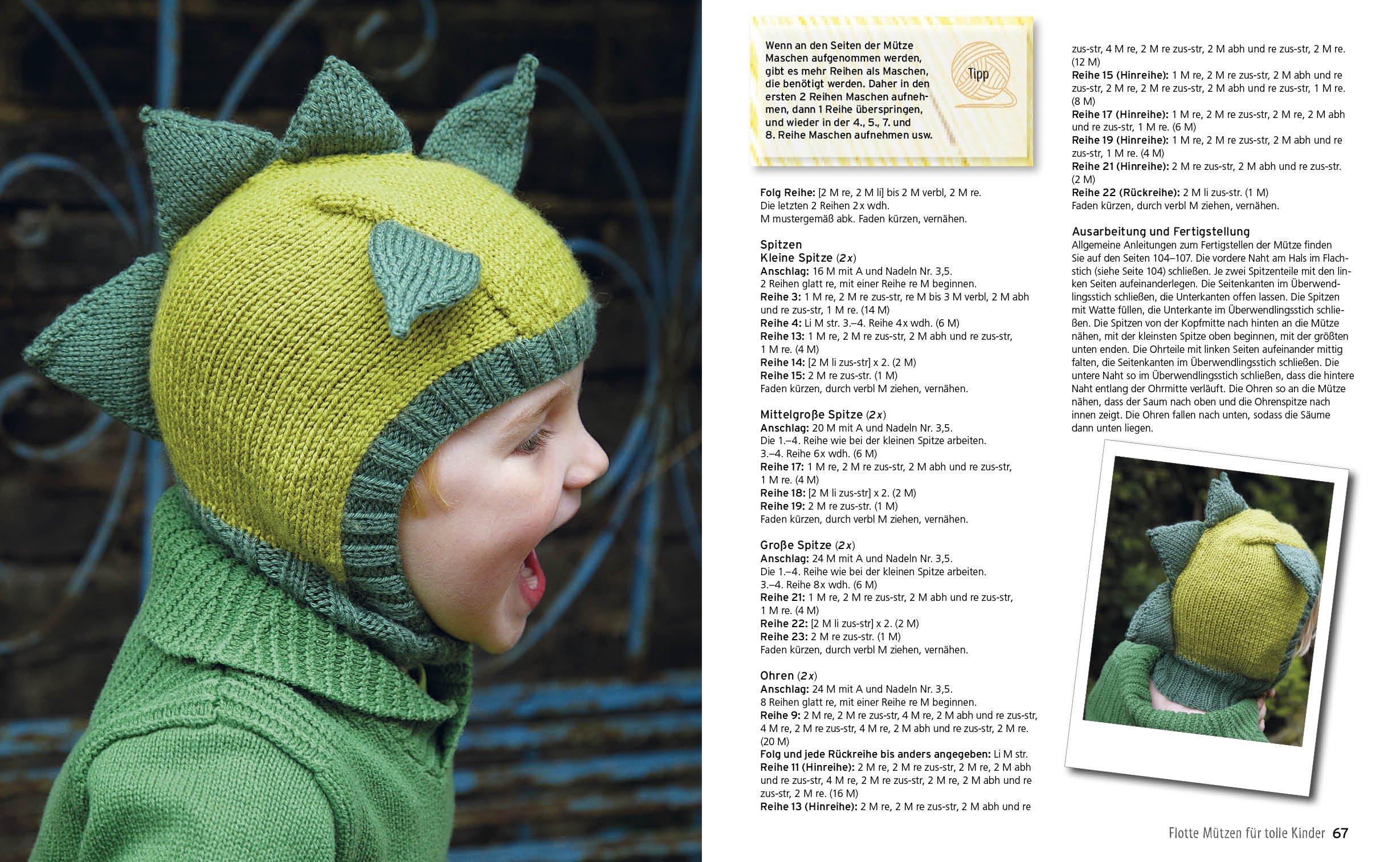 Mützen Zoo Tierisch Warme Maschen Zum Selberstricken Amazonde Bücher