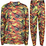 Kids Jogging Suit Girls Camouflage Lounge Suit Tracksuit Hoddie Bottom 2-13 Years