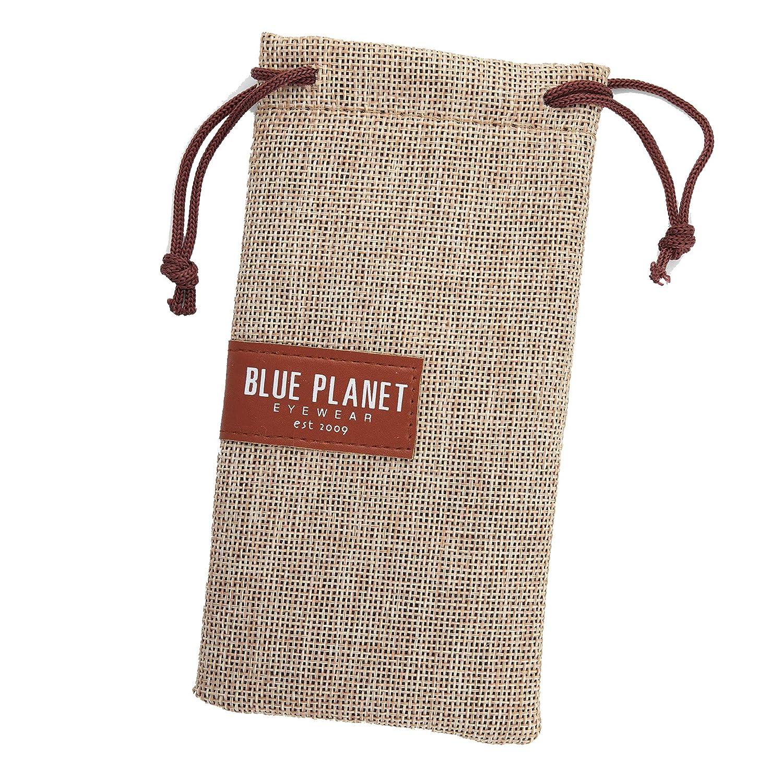 4e7b7991284 Amazon.com  Blue Planet Eyewear Skye Polarized Sunglasses - Women s Black  Onyx Gold Smoke Polarized