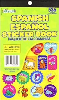 Eureka Spanish Sticker Book