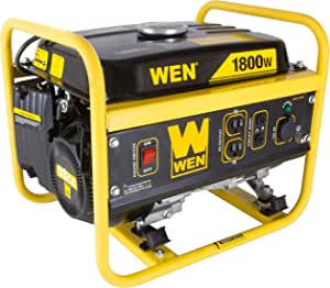WEN 56180 1800-Watt Portable Generator, CARB Compliant