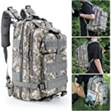 Tactical Backpack,Bienna 3P Military Rucksack Bug Out Bag 30L Medium 600D Nylon [Waterproof] Molle Gear Army Assault Combat Pack for Sport Outdoor Camping Hiking Trekking Men Kids Women