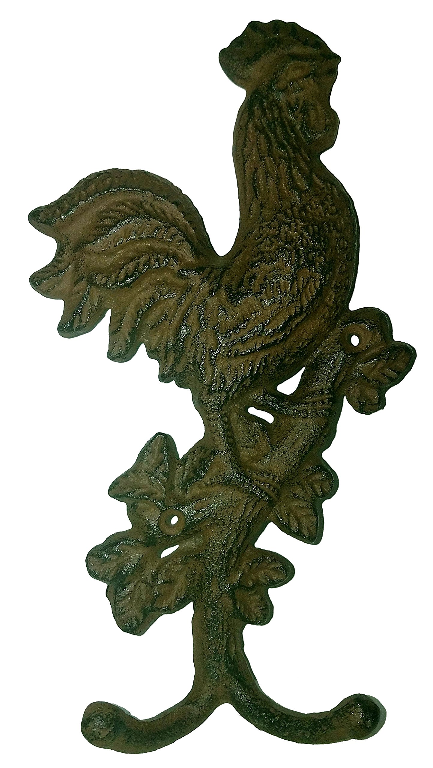Rustic Farmhouse Rooster Hooks - Country Charm