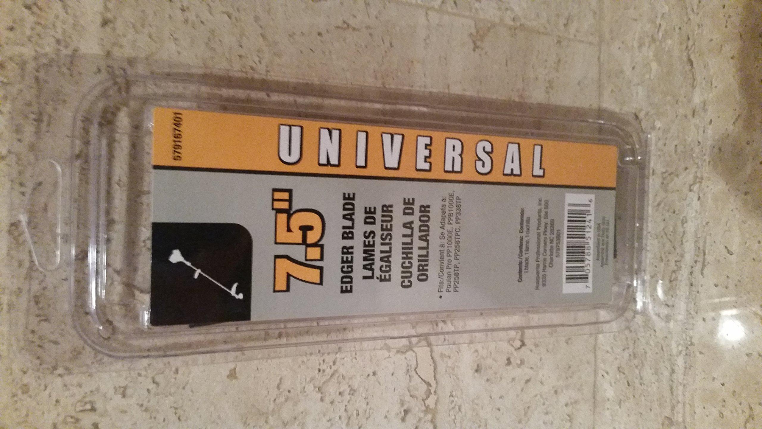 Universal 7.5'' Universal Edger Blade by Universal