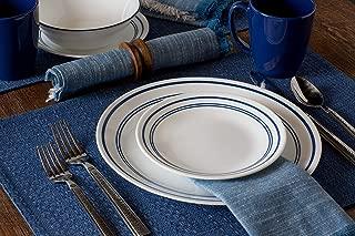 product image for Corelle Livingware Classic Cafe Blue 16-Piece Dinnerware Set