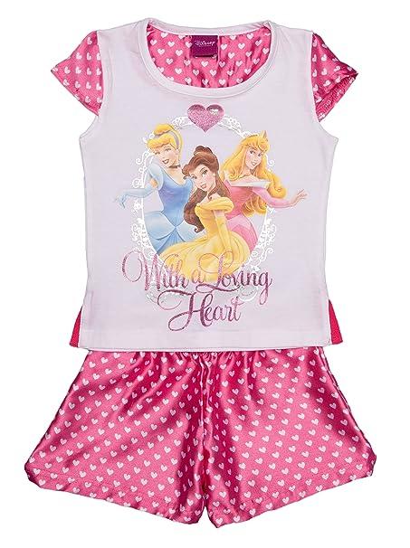 Abbigliamento Pigiama A Princess Corte Maniche Disney it Amazon Donna z7w5xzH