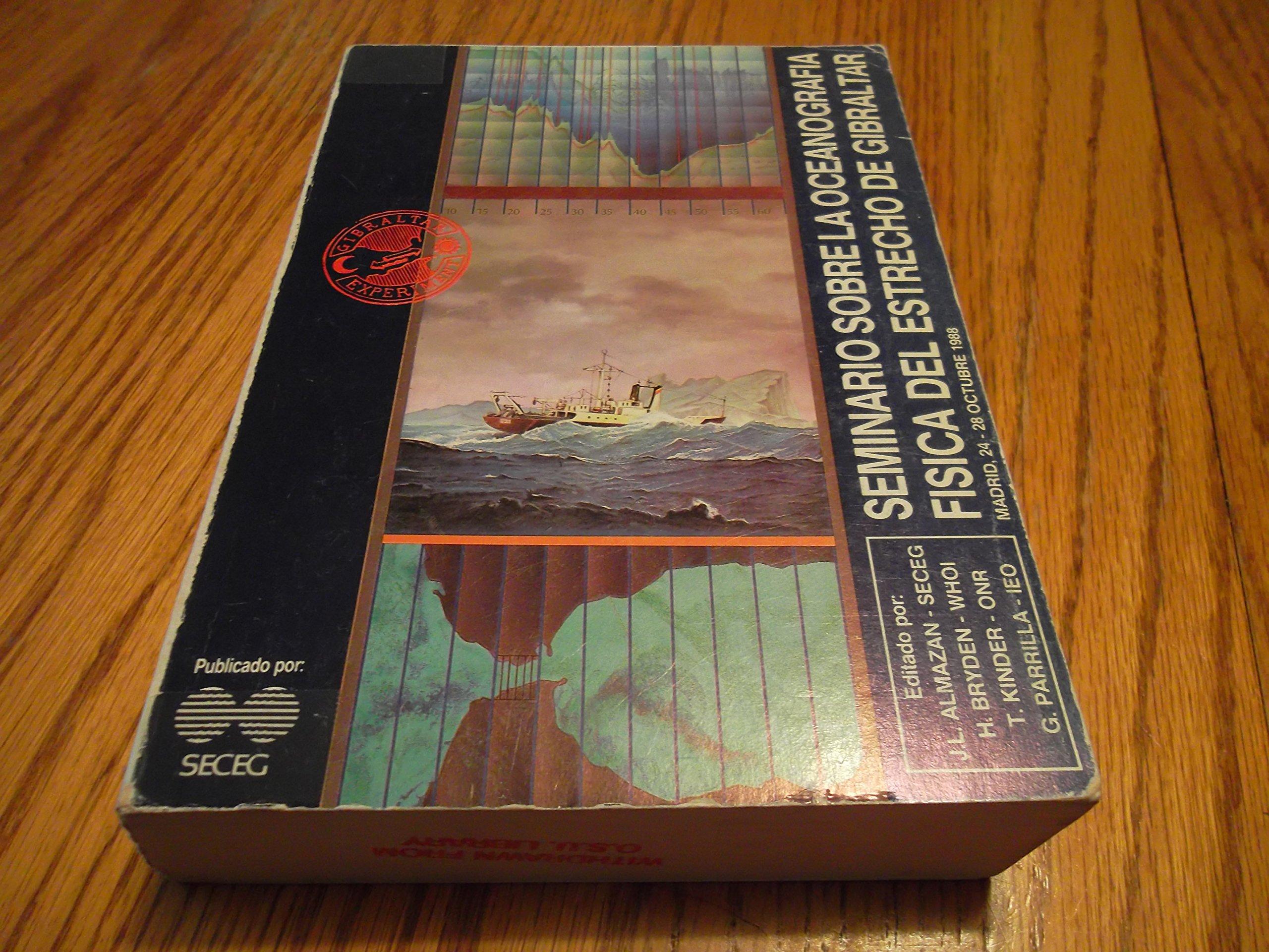 Seminario Sobre La Oceanografia Fisica Del Estrecho De ...