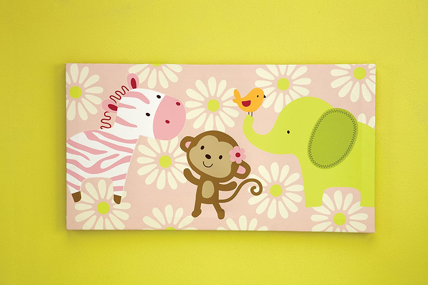 Amazon.com: Carter\'s Jungle Collection Canvas Wall Art: Baby