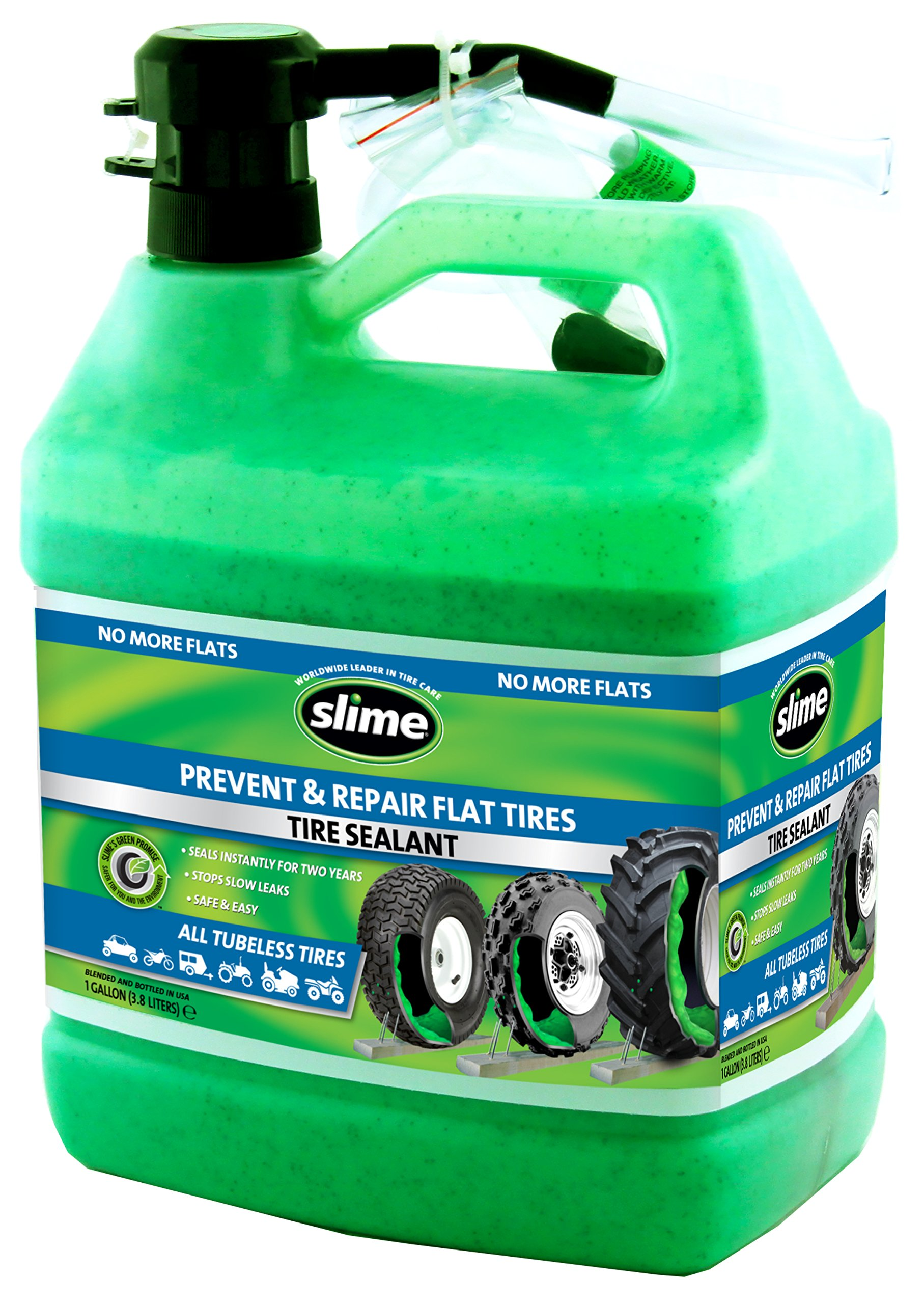 Slime 10163 Automotive Accessories, 128. Fluid_Ounces by Slime