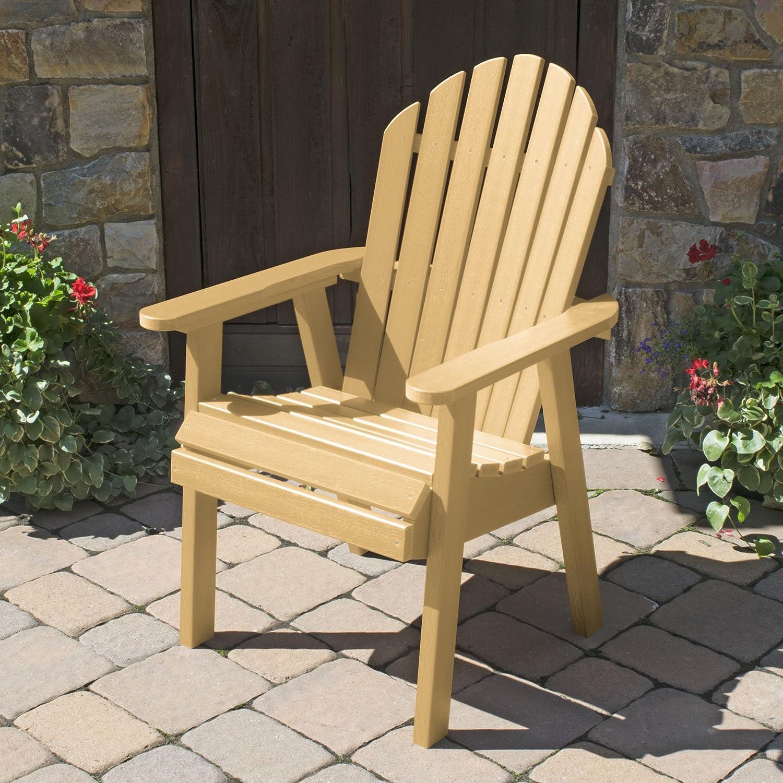 highwood AD-CHDA2-SND Hamilton Deck Chair, Dining Height Sandstone