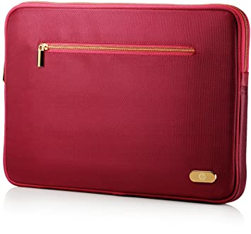 HP 14.1 Ultrabook Sleeve - Funda para ordenador portátil, rojo