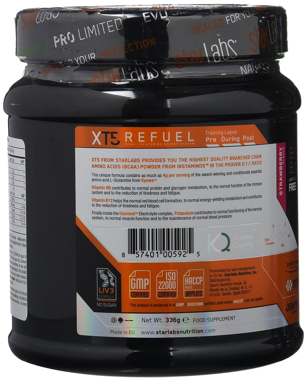 Starlabs Nutrition XT5 Refuel Strawberry - 336 gr: Amazon.es: Salud y cuidado personal